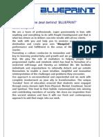 Blueprint Corporate Brochure