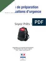 Guide de preparation aux situations d'urgence