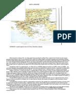 Harta  Aromaniei