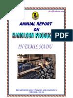 Handloom Production 2008