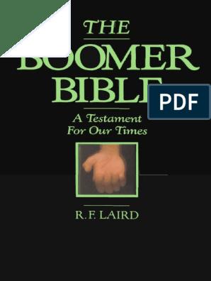 The Boomer Bible   New Testament   Bible