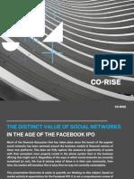 Corise - Valuation of Social Nets - 201202