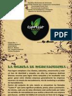 Mezcla de Mercadeo Empresa Espresso Algo Diferente
