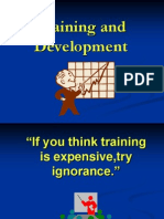 Training and Development - Power Point Presentation[1]