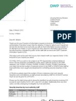 Sackings mount over DWP data leaks