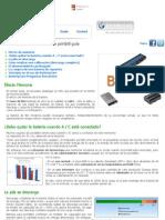 BatteryCare - de la batería portátil adecuada guía de uso