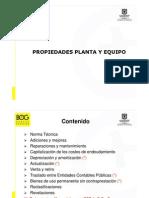 Propiedades Planta y Equipox