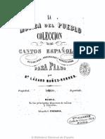 La Música del Pueblo, Lázaro Núñez Robres Madrid 1866