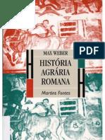WEBER, Max. História agrária romana