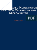 Monte Carlo Modeling for Electron Microscopy and Microanalysis Oxford Series in Optical and Imaging Sciences