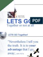 Let's Go! -In Faith!