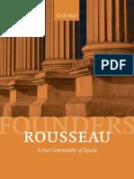 Cohen (2010) Rousseau a Free Community of Equals