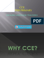 Cce-upper Primary English Ppt