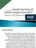 Case Based Learning of Blood Oxygen Transport