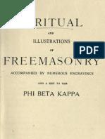 A Ritual and Illustrations of Freemasonry - Phi Beta Kappa