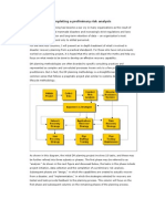 DR Planning-preliminary Risk Analysis