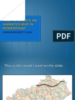 How to Create an Animated Map in Powerpoint