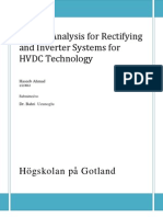 Market Analysis for Rectifying and Inverter Technologies for HVDC System