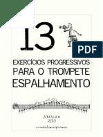 13 Exercicios Progressivos Para o Trompete - Espalhamento
