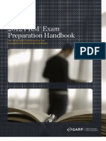 Frm Exam Preparation Handbook