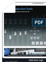 Music Production Tools Brochure