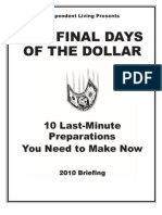 Final Days of the Dollar 11 22 10