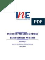 minería_metodología_2009