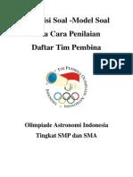 Kisi Kisi Olimpiadeastronomi Versi21jan