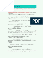 nonlinear srh