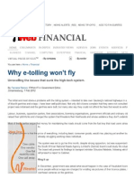 Print - Why E-Tolling Won't Fly _ ITWeb