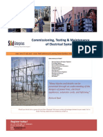Commissioning, Start Up of Electrical Systems Kawimbe