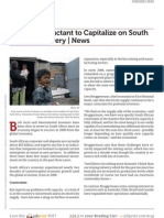 Www.voanews.com Investors Reluctant to Capitalize on South African Recovery News