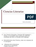 Ciencias Literarias