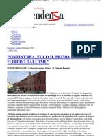 """PONTINVREA, ECCO IL PRIMO COMUNE """"LIBERO DALL'IMU"""" _ L'Indipendenza"""