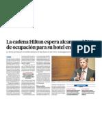 Hotel Hilton exito en Peru