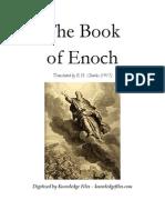 Book of Enoch Translation by Robert Henry Charles, 1917