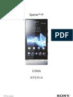 Sony Xperia P WP 1