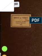 Essay on Vision Bri 00 Adam Rich