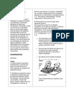 Copia, Dictado y Parafrasis