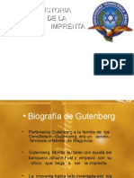 imprenta gutemberg