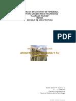 Arquitectura Romana y Su Tecnologia