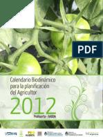 Calendario biodinamico 2012