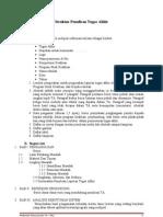 Format Tugas Akhir Revisi 0910