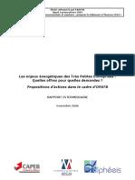 Ratios & Analyse énergétique Par Activité