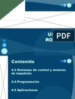 Unidad 4. Robotica. Sistemas de control y motores de impulsión