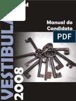 Manual do Candidato UFSM 2008