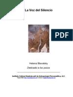 La Voz Del Silencio - Helena Blavatsky