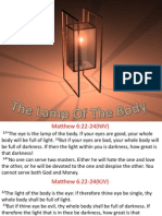 The Lamp of the Body