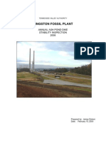 TVA's annual ash pond dike stability inspection report, issued Feb. 15, 2008