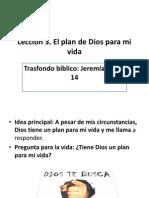 EL PLAN DE DIOS